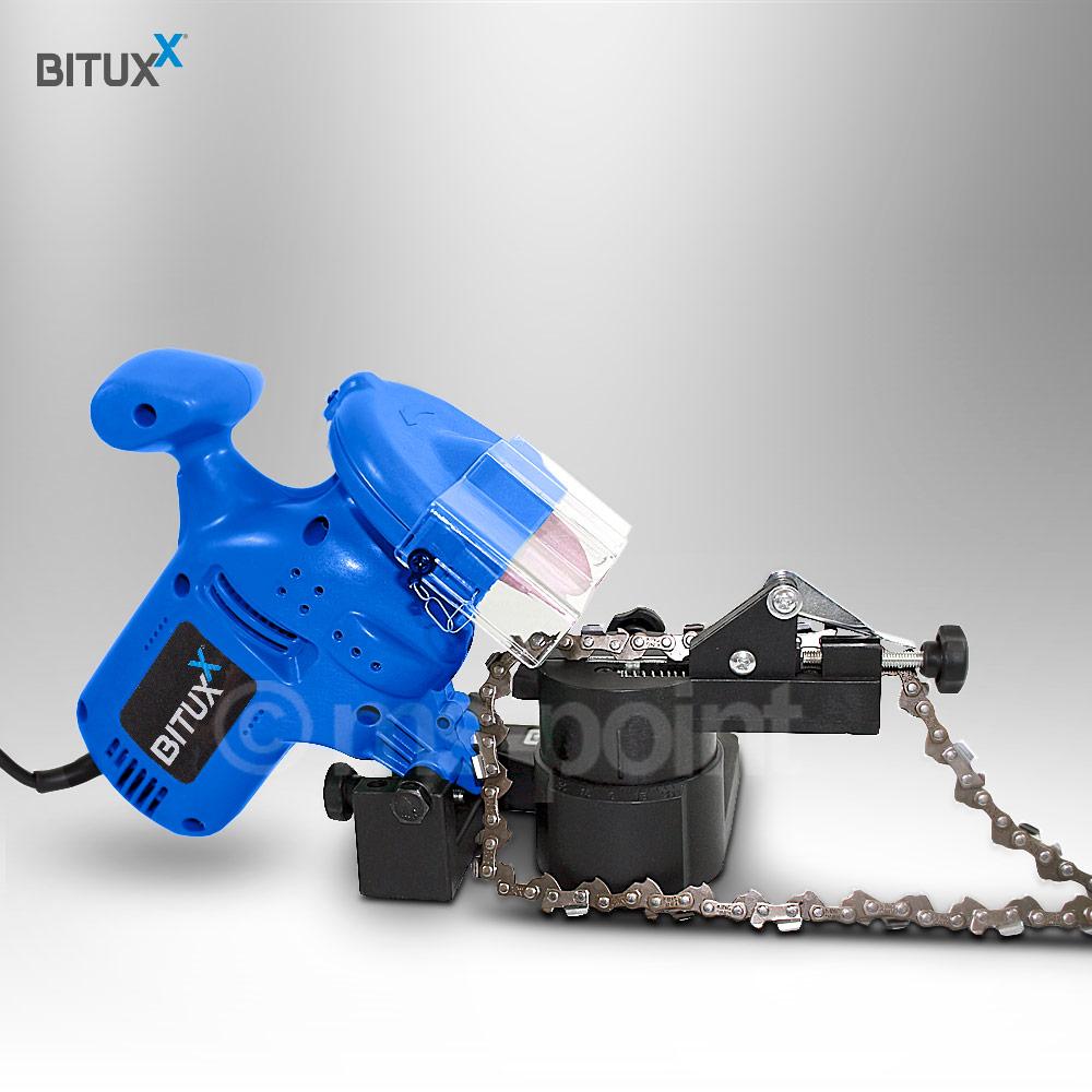 bituxx sägekettenschärfgerät schärfgerät schärfen sägeketten für