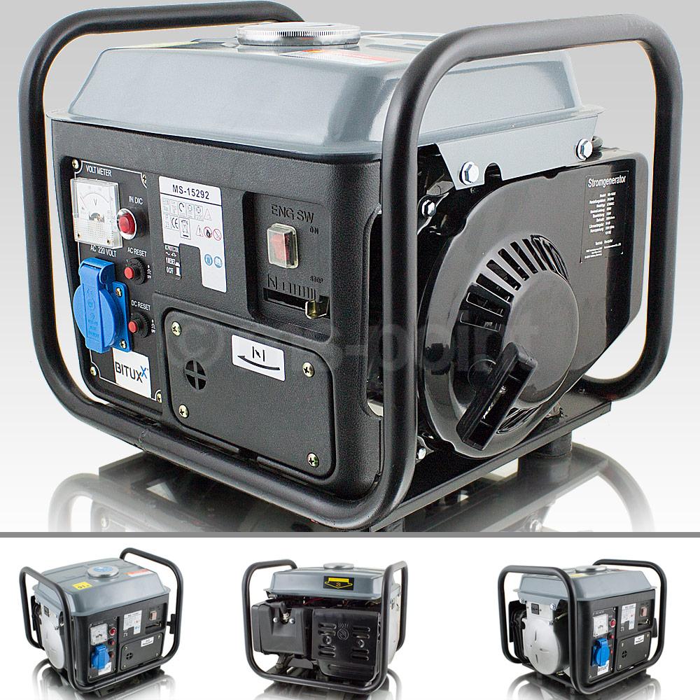 bituxx benzin stromgenerator mobiler stromerzeuger tragbares stromaggregat ebay. Black Bedroom Furniture Sets. Home Design Ideas