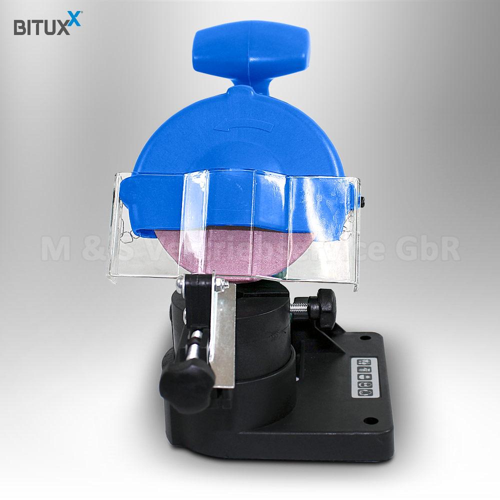 BITUXX Sägekettenschärfgerät Kettenschärfgerät Kettenschleifer für Kettensägen