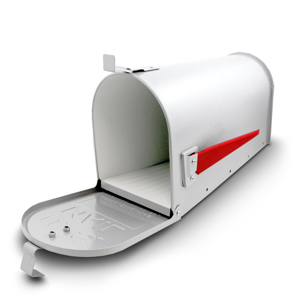 us mailbox amerikanischer briefkasten standbriefkasten wandbriefkasten wei ebay. Black Bedroom Furniture Sets. Home Design Ideas