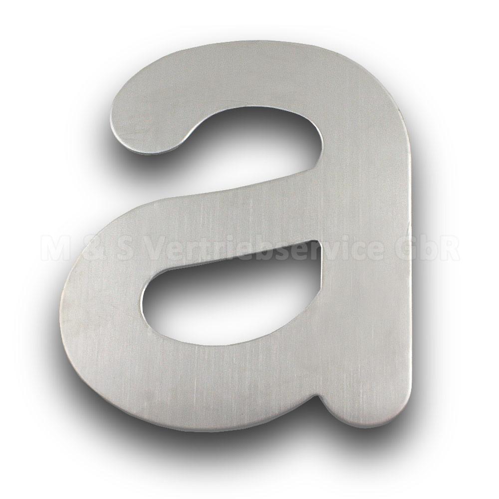 Edelstahl-Hausnummern-0-9-A-C-150mm-200mm-Hausschild-Wohnungsnumer-Zimmernummer