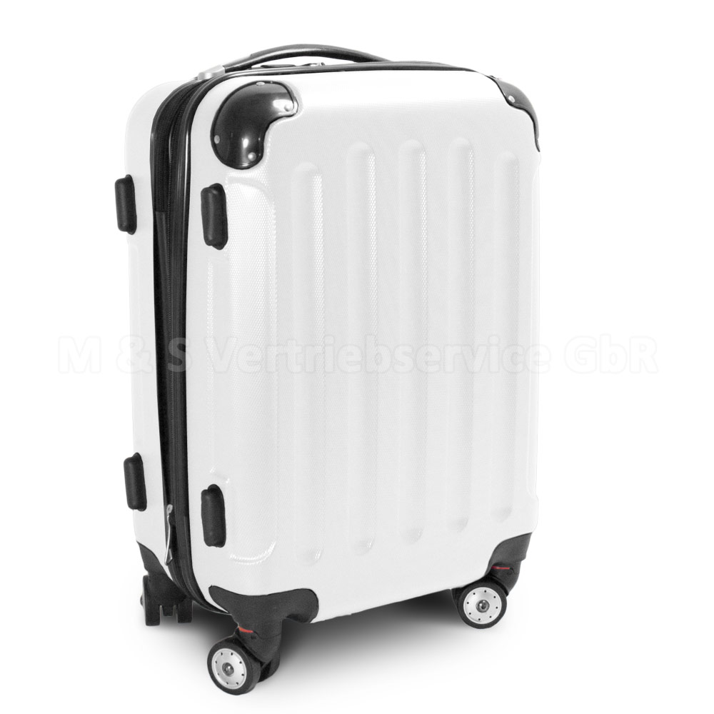 Handgepaeck-Boardcase-Cabin-Hartschalen-Reisetrolley-Groesse-034-M-034-Koffer-034-STRIPES-034