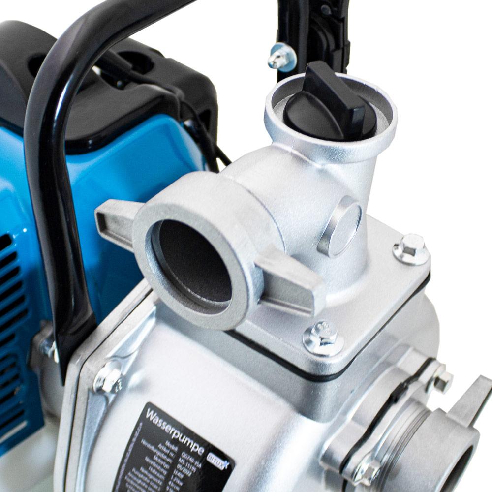 Bituxx benzin wasserpumpe 43ccm motorpumpe for Garten wasserpumpe