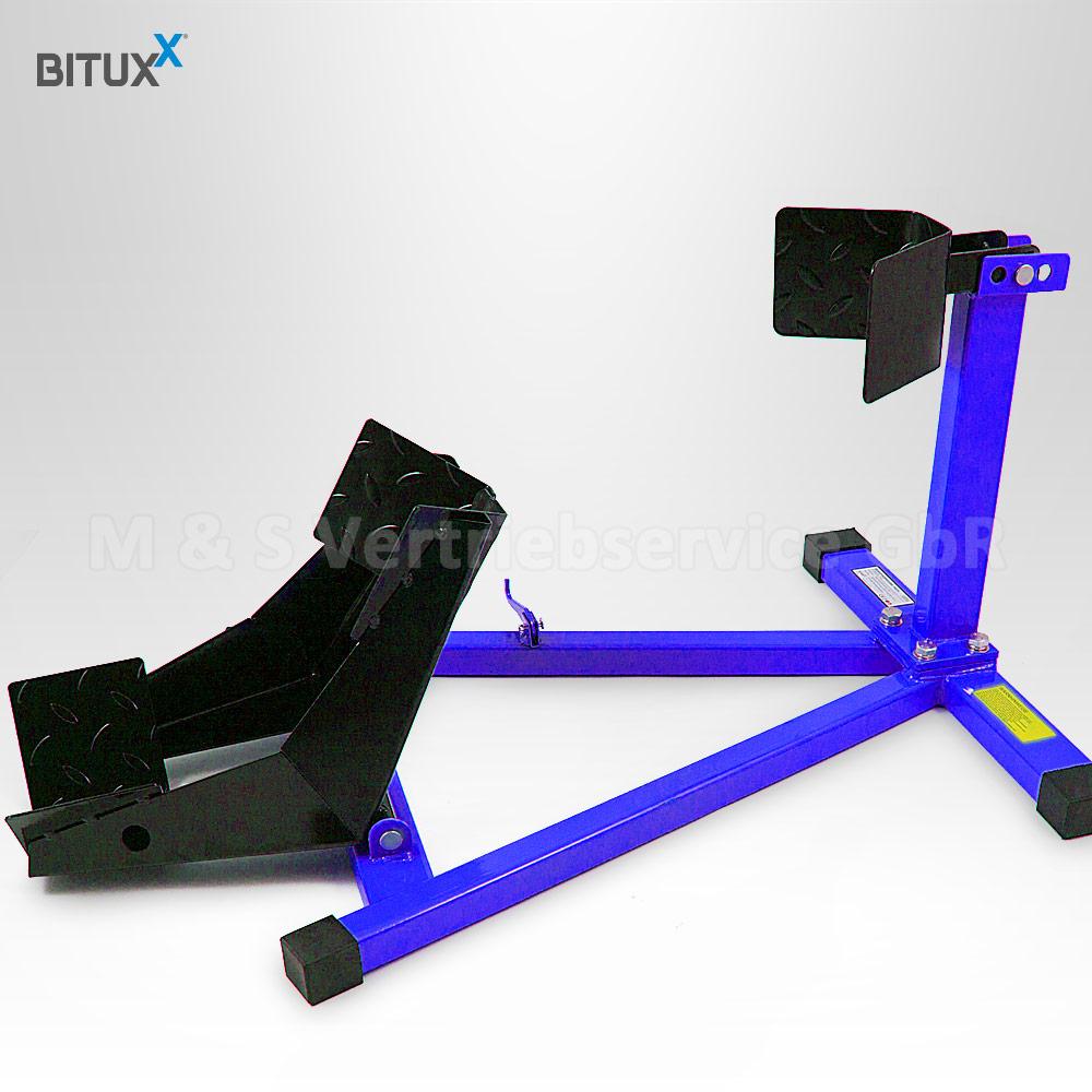 motorrad montagest nder vorne motorradst nder wippe. Black Bedroom Furniture Sets. Home Design Ideas