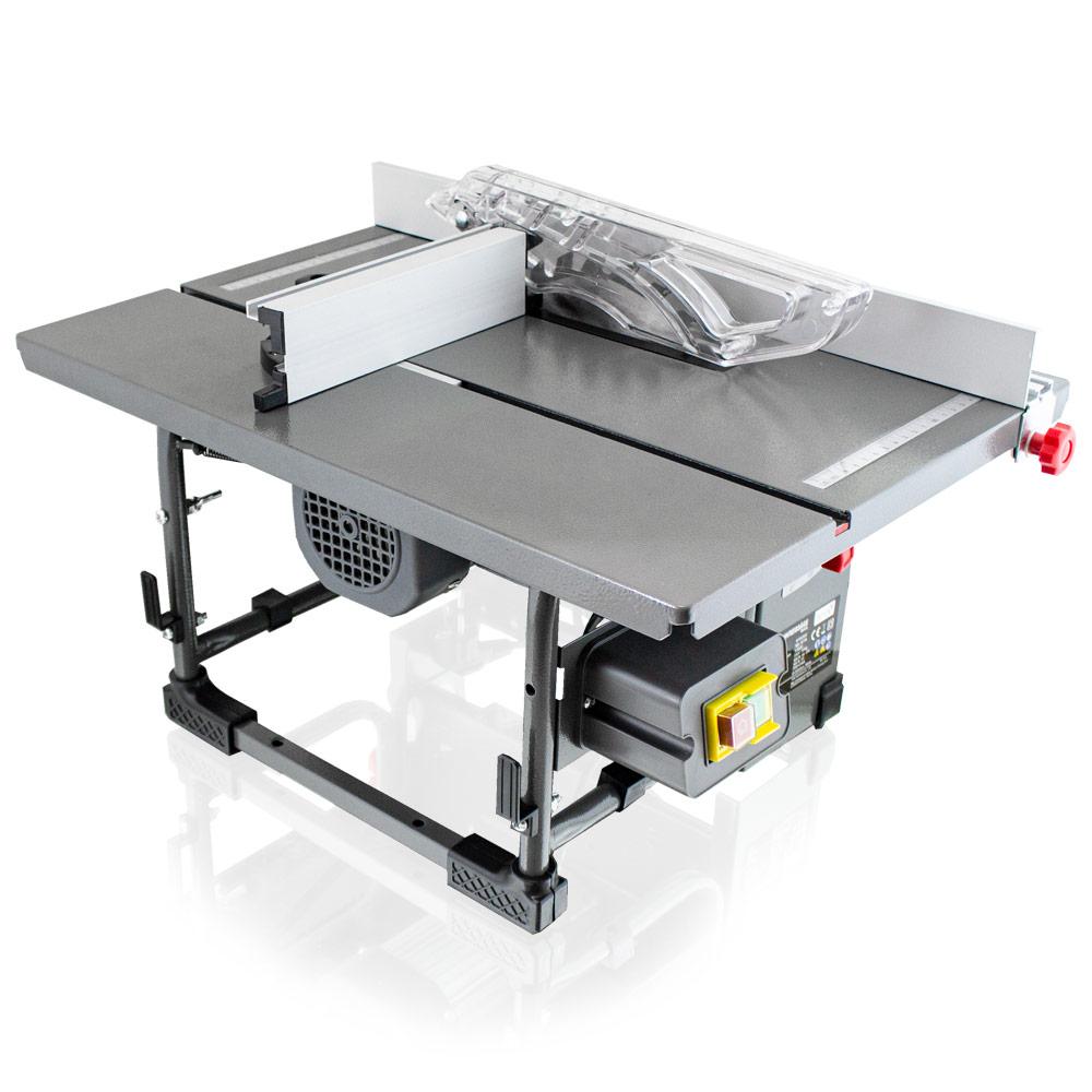 bituxx® mobile tischkreissäge 800 watt kreissäge inkl. absaugung und