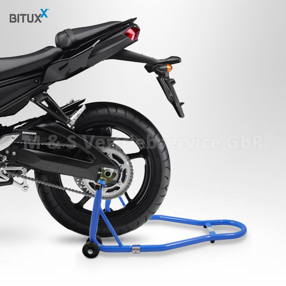bituxx motorradst nder hinten vorn motorrad transport. Black Bedroom Furniture Sets. Home Design Ideas