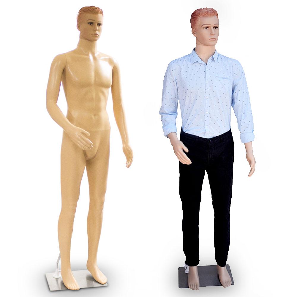 Schaufensterpuppe SM-1 Mannequin männliche Schaufensterfiguren  male mannequin
