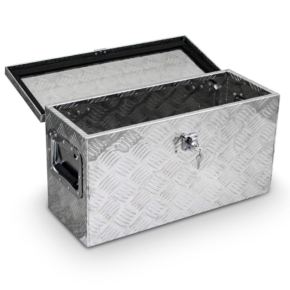 Truckbox Alukasten Gurtkiste Pritschenbox Alubox Anhängerbox Werkzeugkiste