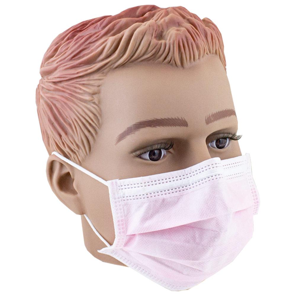 50x Einweg Mundschutz OP Hygiene Maske Gummiband 3-lagig ...